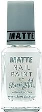 Духи, Парфюмерия, косметика Матовый топ для ногтей - Barry M Matte Nail Paint Top Coat