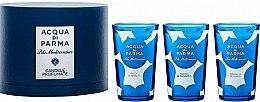 Духи, Парфюмерия, косметика Acqua di Parma Blu Mediterraneo - Набор (3xcandle/65g)