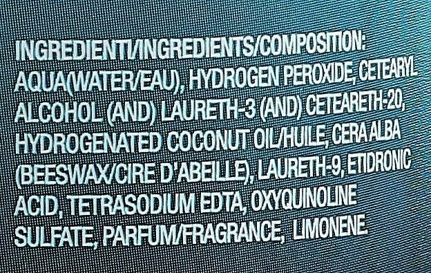 Оксидант перекиси водорода 30vol 9% - H.Zone Option Oxy — фото N3