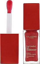 Духи, Парфюмерия, косметика Мерцающее масло-блеск для губ - Clarins Lip Comfort Oil Shimmer