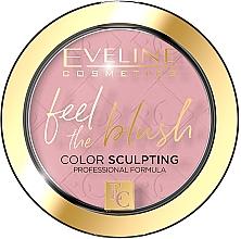 Духи, Парфюмерия, косметика Румяна - Eveline Cosmetics Feel The Blush