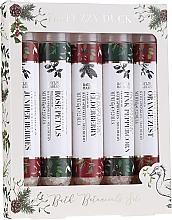 Духи, Парфюмерия, косметика Набор - Baylis & Harding Bath Botanicals Set (salt/for/bath/5x65g)