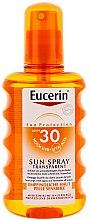 Духи, Парфюмерия, косметика Солнцезащитный спрей для тела SPF 30 - Eucerin Sun Spray Transparent SPF 30
