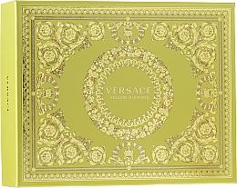 Духи, Парфюмерия, косметика Versace Yellow Diamond - Набор (edt/50ml + b/lot/50ml + sh/gel/50ml)
