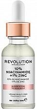 Духи, Парфюмерия, косметика Сыворотка для расширенных пор - Revolution Skincare 10% Niacinamide + 1% Zinc