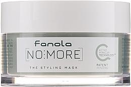 Духи, Парфюмерия, косметика Натуральная маска для укладки волос - Fanola No More The Styling Mask