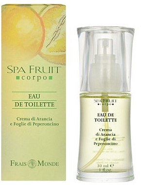 Frais Monde Spa Fruit Orange And Chilli Leaves - Туалетная вода — фото N1