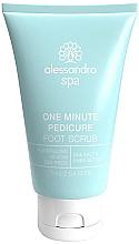 Духи, Парфюмерия, косметика Пилинг для кожи ног и ступней - Alessandro International Spa One Minute Pedicure Foot Scrub