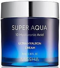 Духи, Парфюмерия, косметика Увлажняющий крем для лица - Missha Super Aqua Ultra Hyalron Cream