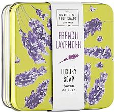 "Духи, Парфюмерия, косметика Мыло для тела в металлической коробке ""Французская лаванда"" - Scottish Fine French Lavender Soap In A Tin"