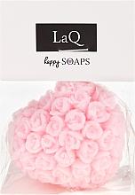 """Духи, Парфюмерия, косметика Натуральное мыло ручной работы """"Сердце с розами"""" с ароматом вишни - LaQ Happy Soaps Natural Soap"""