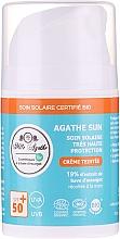Духи, Парфюмерия, косметика Солнцезащитный крем со слизью улитки - Mlle Agathe Sun SPF 50+