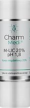 Духи, Парфюмерия, косметика Миндальная кислота 20% - Charmine Rose Charm Medi M-Lic 20% pH 1.8