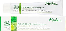 Духи, Парфюмерия, косметика Зубная паста - Melvita Dentifrice Pure Breath Toothpaste
