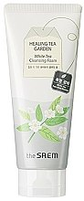 Духи, Парфюмерия, косметика Пенка для умывания - The Saem Healing Tea Garden White Tea Cleansing Foam