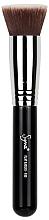 Духи, Парфюмерия, косметика Кисть для основы под макияж F80 - Sigma Beauty Air Flat Kabuki Brush