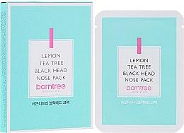 Духи, Парфюмерия, косметика Очищающие полоски против черных точек - Borntree Lemon Teatree Black Head Nose Pack