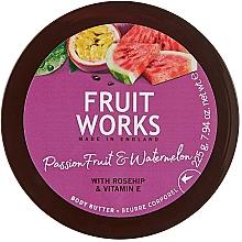 """Духи, Парфюмерия, косметика Масло для тела """"Маракуйя и арбуз"""" - Grace Cole Fruit Works Body Butter"""