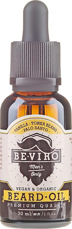 Масло для бороды - Beviro Beard Oil Vanilla Palo Santo Tonka Boby — фото N2