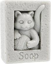 """Духи, Парфюмерия, косметика Мыло натуральное """"Кот с клубком"""", серый - LaQ Happy Soaps"""