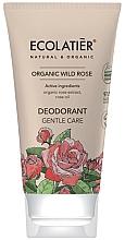 """Духи, Парфюмерия, косметика Дезодорант """"Нежный уход"""" - Ecolatier Organic Wild Rose Deodorant"""