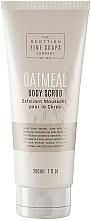 Духи, Парфюмерия, косметика Скраб для тела - Scottish Fine Soaps Oatmeal Body Scrub