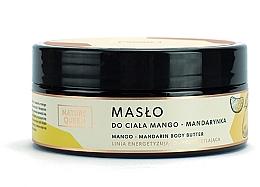 "Духи, Парфюмерия, косметика Масло для тела ""Манго и мандарин"" - Nature Queen Body Butter"