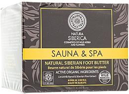 """Духи, Парфюмерия, косметика Натуральное густое сибирское масло для ног """"Sauna & Spa"""" - Natura Siberica"""