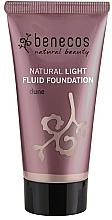 Духи, Парфюмерия, косметика Тональный флюид для лица - Benecos Natural Light Fluid Foundation