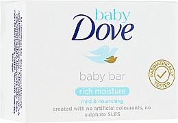 Духи, Парфюмерия, косметика Мыло - Dove Baby Bar Rich Moisture