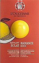 Духи, Парфюмерия, косметика Отшелушивающий скраб для сияния кожи - L'Occitane Radiance Scrub (пробник)