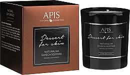 Духи, Парфюмерия, косметика Натуральная соевая свеча - APIS Professional Dessert For Skin Candle