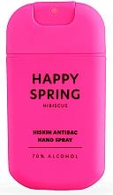 "Духи, Парфюмерия, косметика Спрей для дезинфекции рук ""Гибискус"" - HiSkin Antibac Hand Spray Happy Spring"