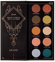 Духи, Парфюмерия, косметика Палетка теней для век - Zoeva Aristo Eyeshadow Palette