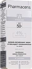 Крем для лица - Pharmaceris W Whitening Dermo-Protective Day Cream — фото N4