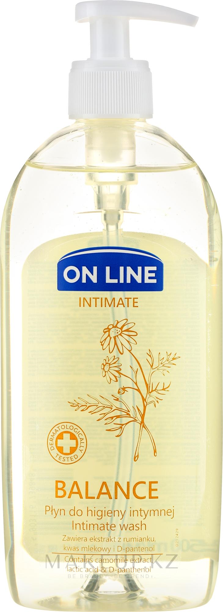 """Гель для интимной гигиены """"Ромашка"""" - On Line Intimate Balance — фото 500 ml"""