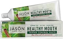 """Духи, Парфюмерия, косметика Зубная паста """"Контроль за зубным камнем"""" - Jason Natural Cosmetics Healthy Mouth Tartar Control Toothpaste"""