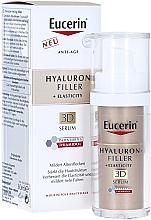 Духи, Парфюмерия, косметика Антивозрастная сыворотка для зрелой кожи - Eucerin Hyaluron-Filler + Elasticity Anti-Age 3D Serum