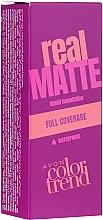 Духи, Парфюмерия, косметика Тональная основа - Avon Real Matte Color Trend