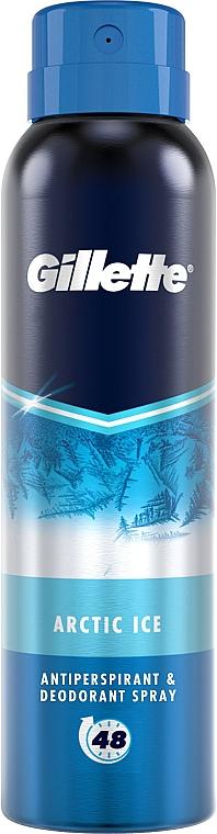 Дезодорант-антиперспирант аэрозольный - Gillette Arctic Ice Antiperpirant Spray — фото N1