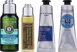 Духи, Парфюмерия, косметика Набор - L'Occitane Men Selection (sh/gel/50ml + ash/balm/30ml + /cr/30ml + shmp/75ml + bag)