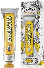 Духи, Парфюмерия, косметика Освежающая зубная паста - Marvis Rambas Limited Edition Toothpaste