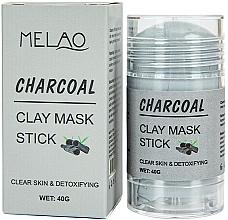 """Духи, Парфюмерия, косметика Маска-стик для лица """"Charcoal"""" - Melao Charcoal Clay Mask Stick"""