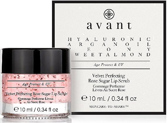 Скраб для губ - Avant Velvet Perfecting Rose Sugar Lip Scrub — фото N1