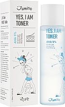 Духи, Парфюмерия, косметика Тонер для лица - HelloSkin Jumiso Yes I Am Toner AHA 5%