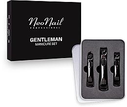 Духи, Парфюмерия, косметика Маникюрный набор для мужчин - NeoNail Professional Gentleman Manicure Set