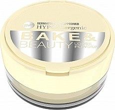 Духи, Парфюмерия, косметика Рассыпчатая пудра - Bell HypoAllergenic Bake & Beauty Loose Powder