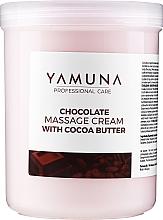 """Духи, Парфюмерия, косметика Массажный крем """"Шоколадная мечта"""" - Yamuna Massage Cream"""