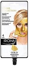 Духи, Парфюмерия, косметика Маска для лица - Iroha Nature Gold Peel Off Mask Firming