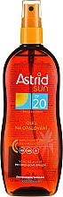 Духи, Парфюмерия, косметика Масло-спрей для загара SPF20 - Astrid Sun Suncare Spray Oil SPF20
